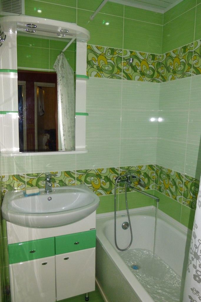 Декор в ванной.фото