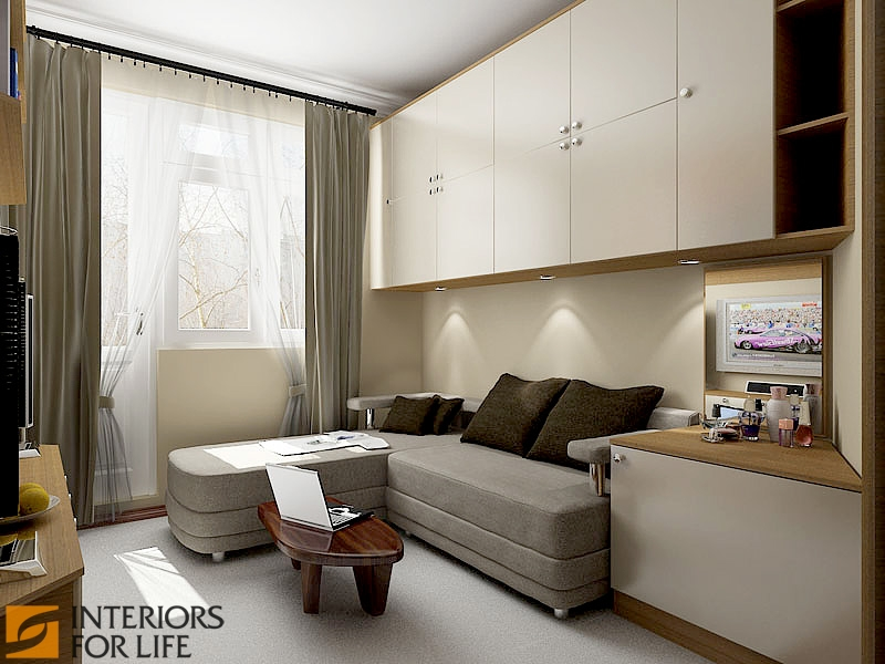 Дизайн комнаты 10 кв м с диваном