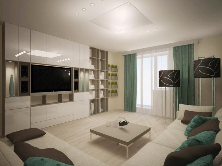 Дизайн зала 19 кв м в квартире фото