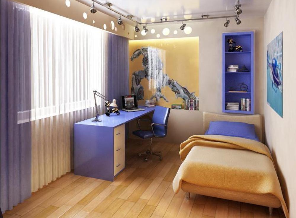 Дизайн комнаты подростка мальчика своими
