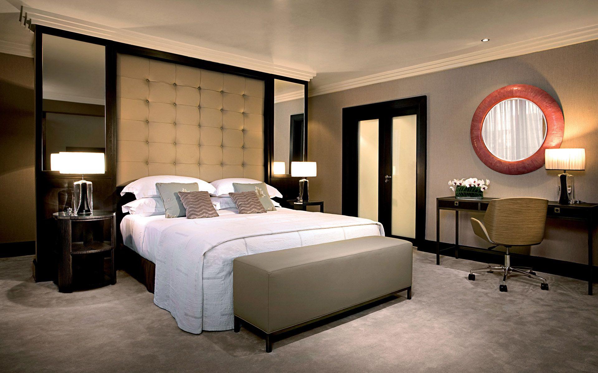Идеи интерьера спальной комнаты фото