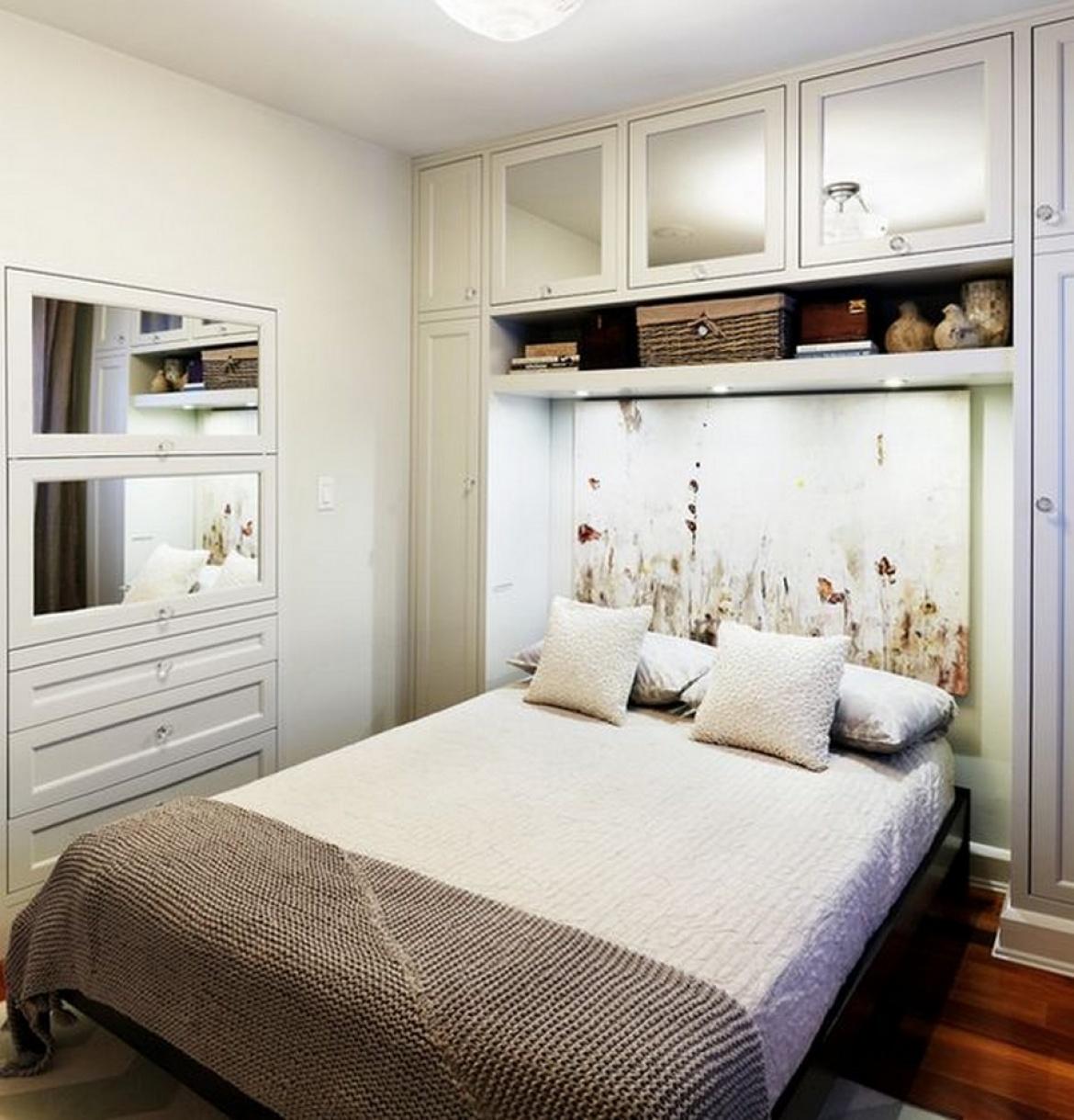 Дизайн интерьер маленькой спальни фото