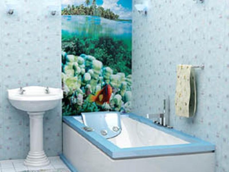 дизайн ванной комнаты в панелях фото #11
