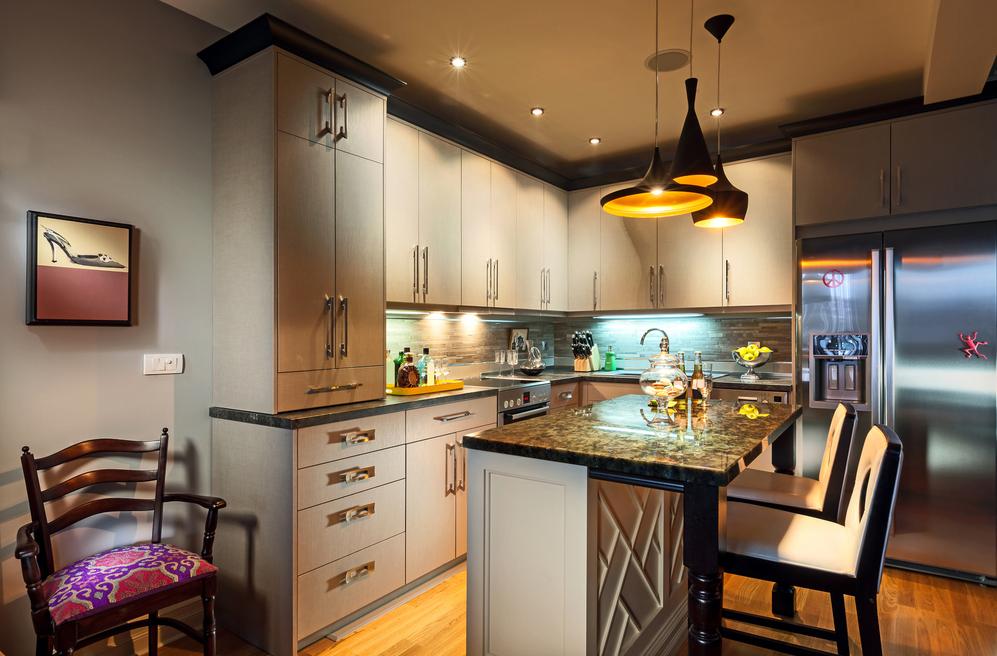Люстры в маленькую кухню в интерьере фото