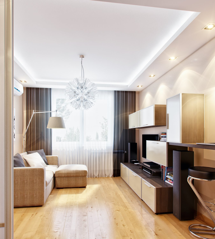 Маленькая гостиная - 105 фото оригинальных дизайнерских реше.
