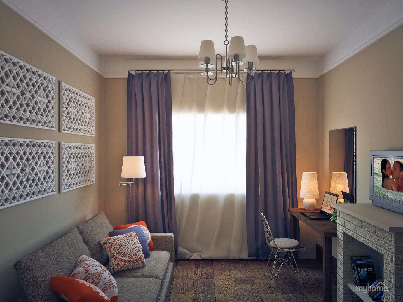 Дизайн уютной комнаты