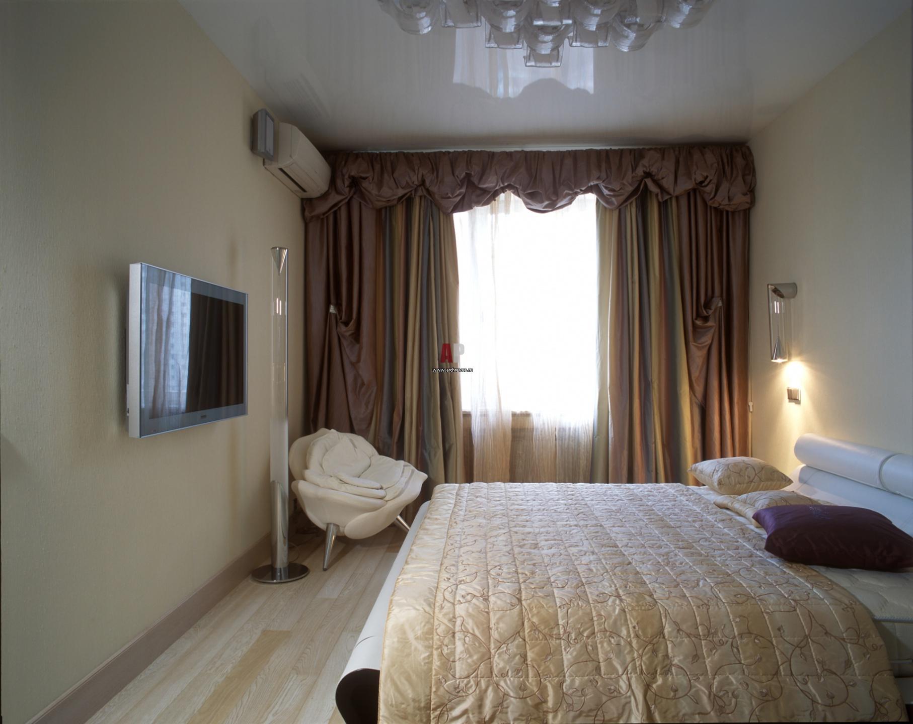 Экономный ремонт спальни своими руками фото