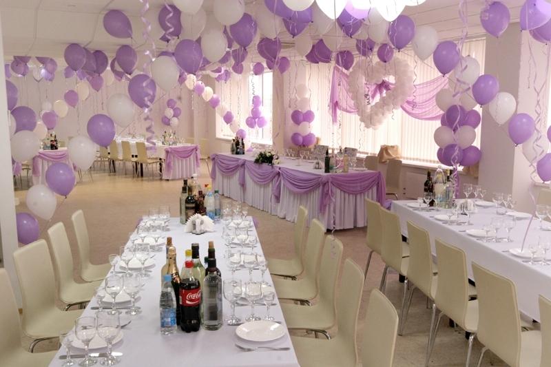 Как оформление свадебного зала своими руками
