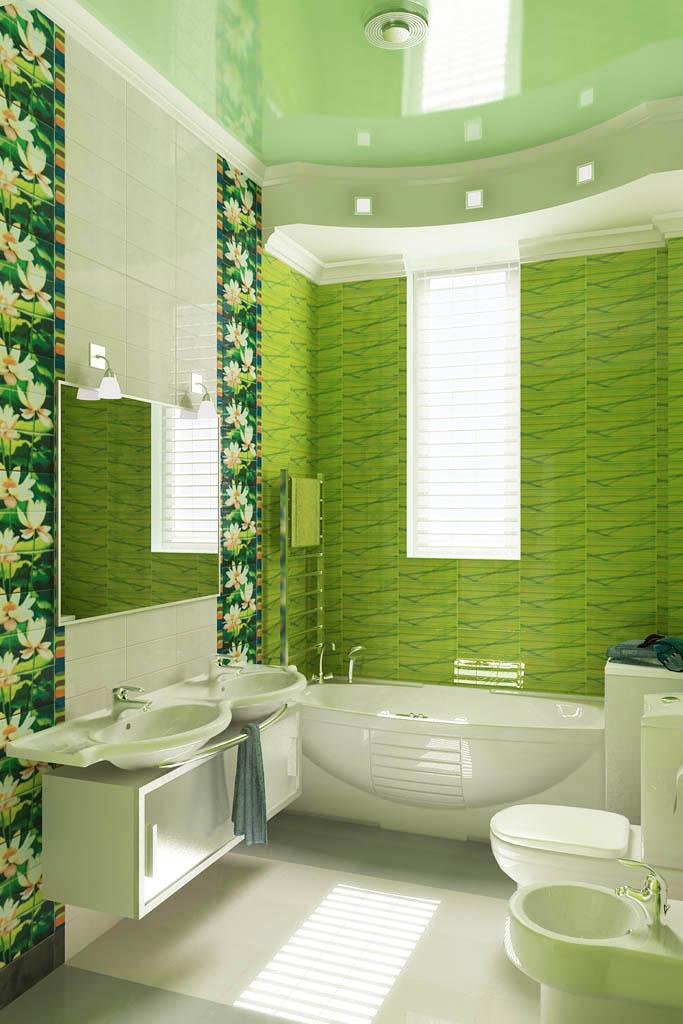 Идеи интерьера ванной комнаты фото