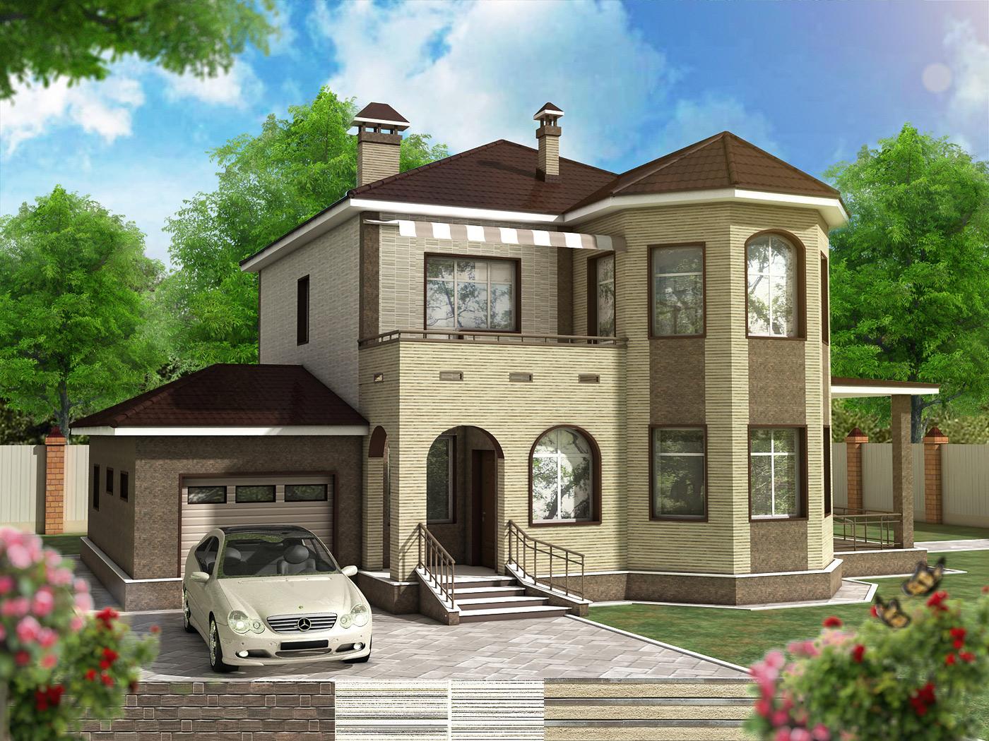 Коттедж дизайн проекты домов