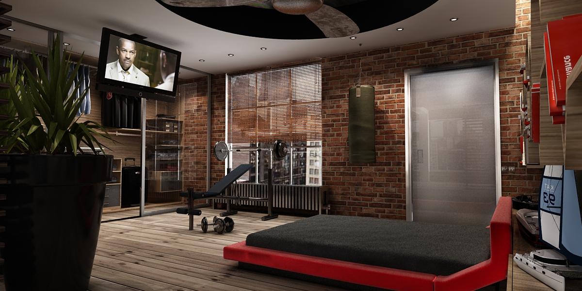 Фото мужской интерьер комнаты