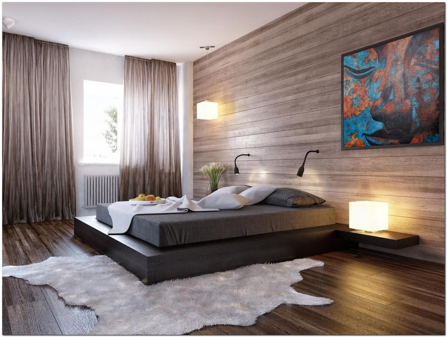 Интерьер обои в спальне фото