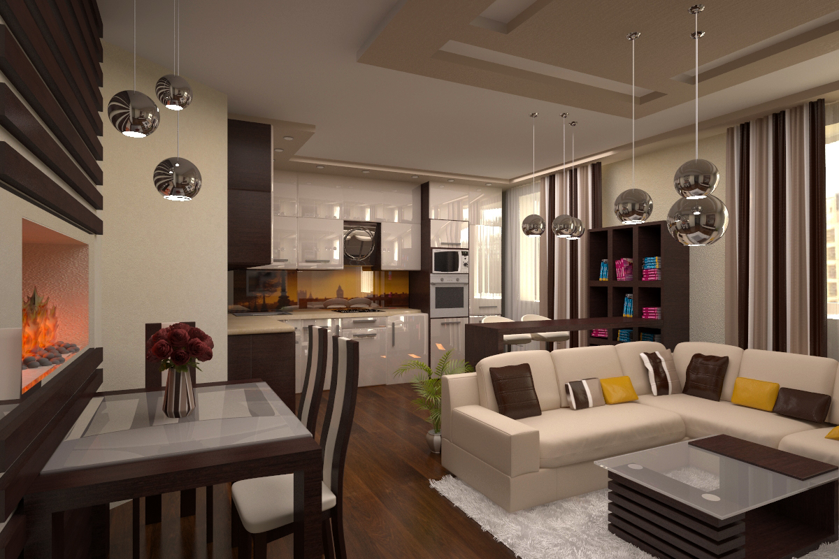 Дизайн студий в доме