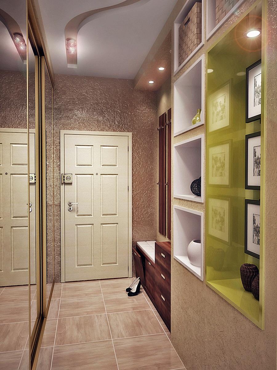 Фото дизайна коридора 2 кв м