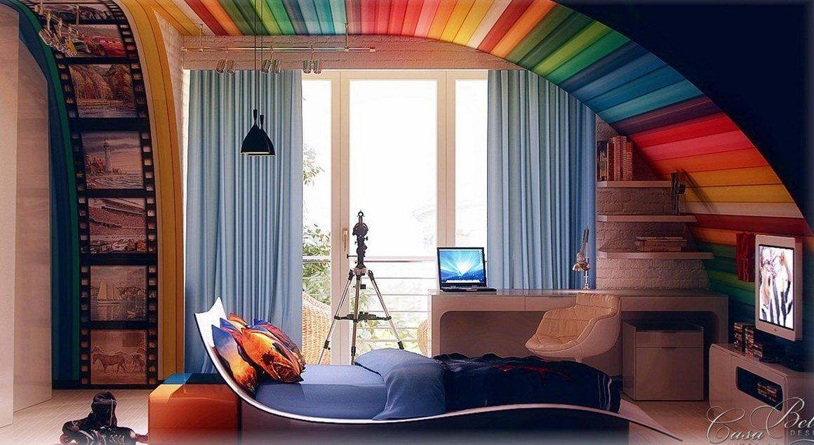 Дизайнерские идеи для комнаты своими руками фото