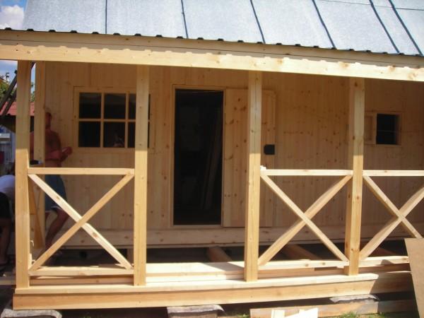 Как построить самому веранду на даче