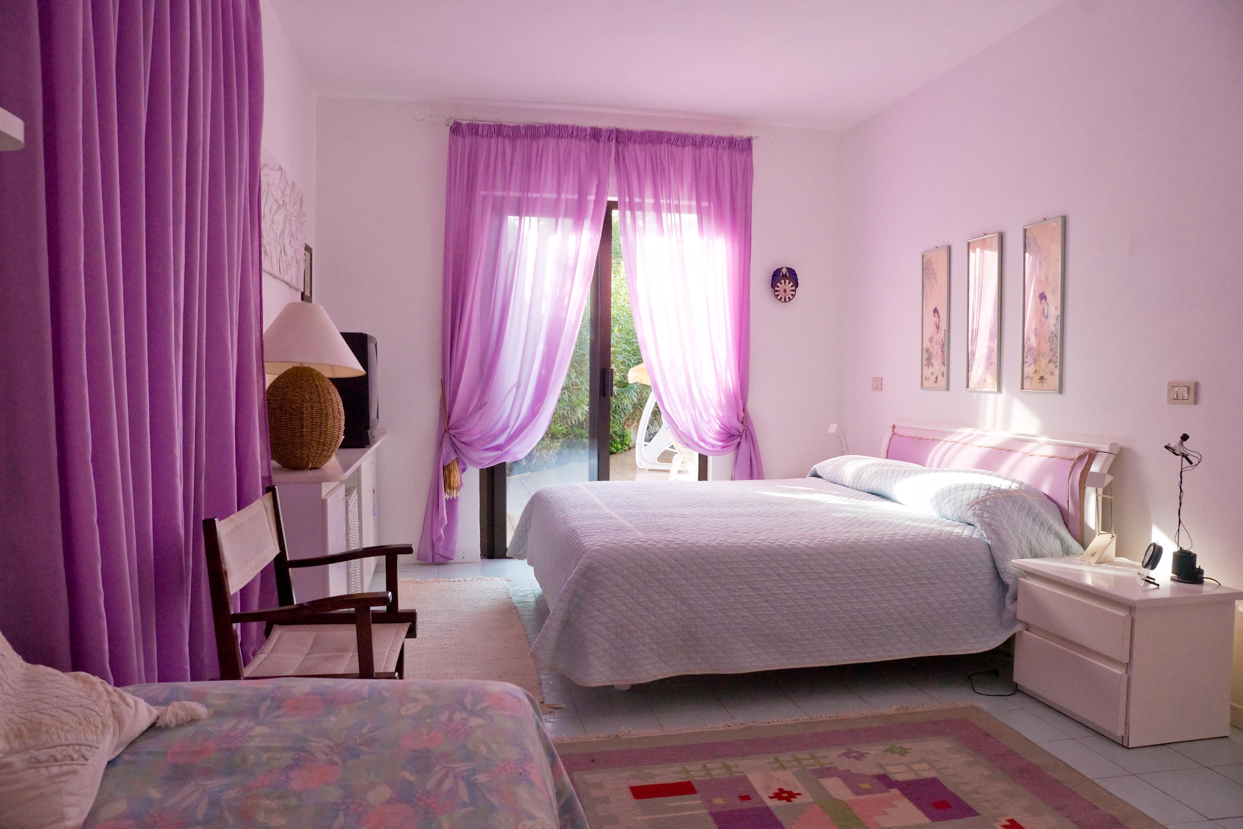 Лавандовый цвет в интерьере спальни: как применить Дизайн