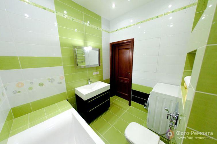 Ванные комнаты зеленого цвета дизайн
