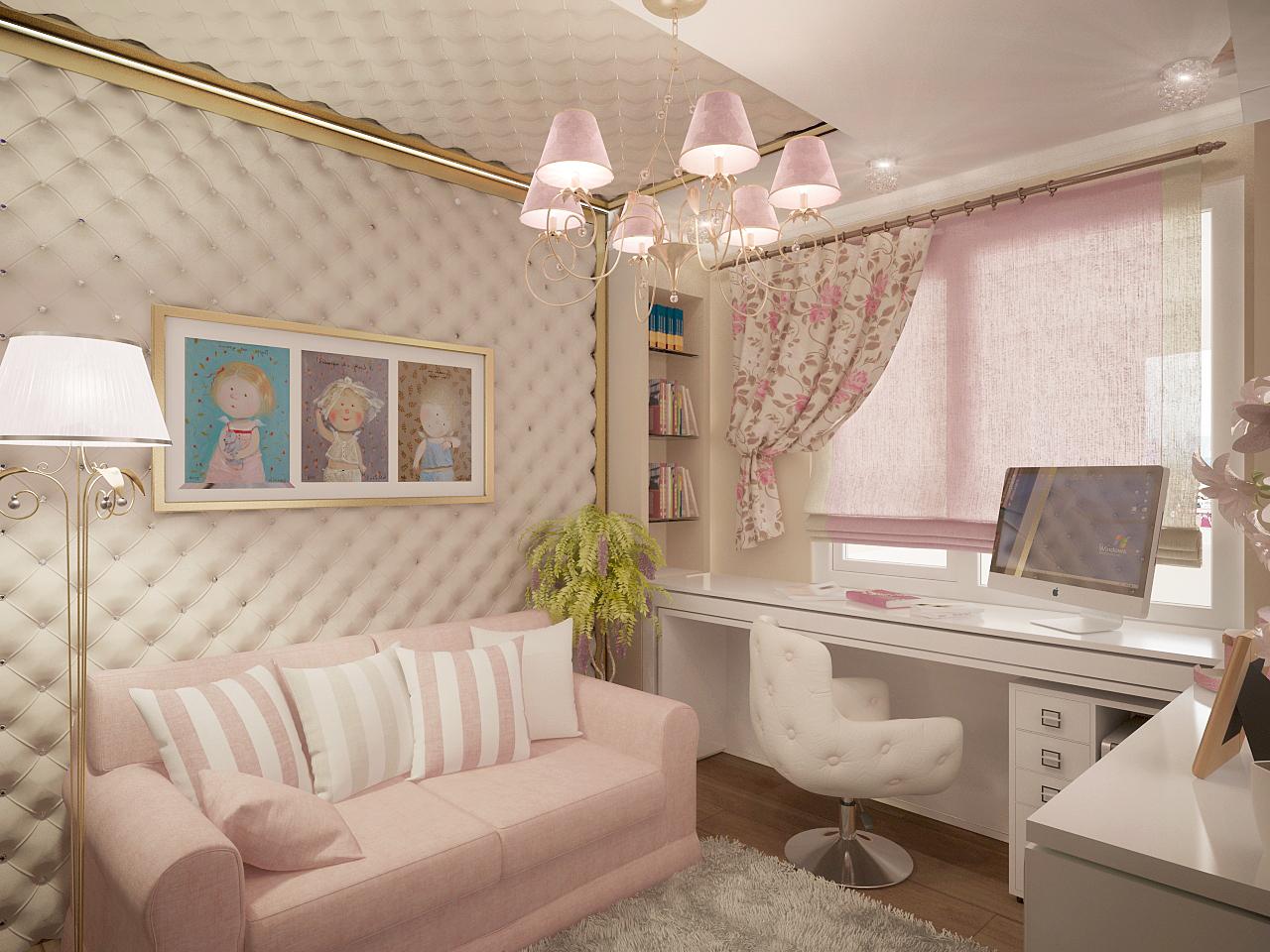 Комната девочки подростка дизайн интерьера фото