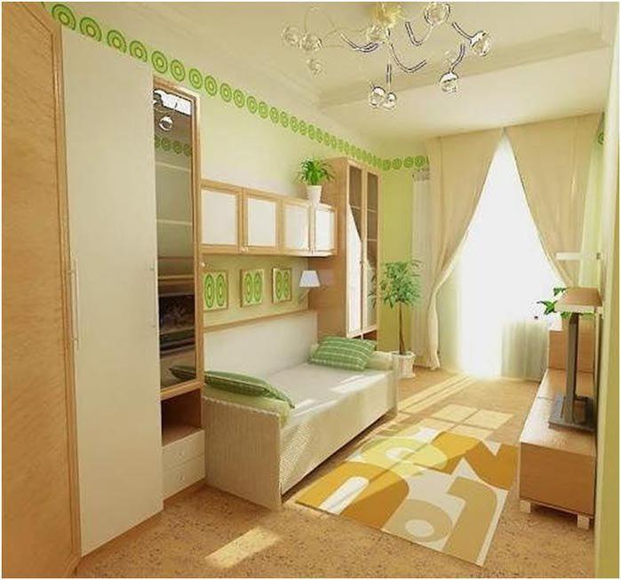 Фото интерьер в маленькой комнате