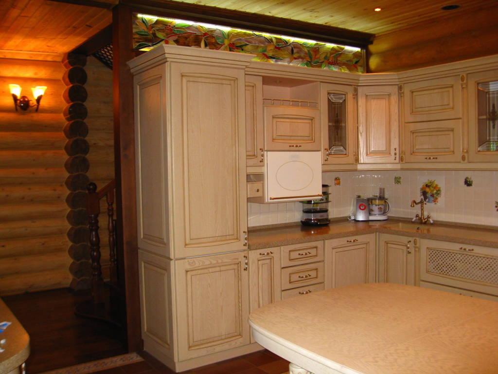 Кухни дизайн проекты в деревянный дом