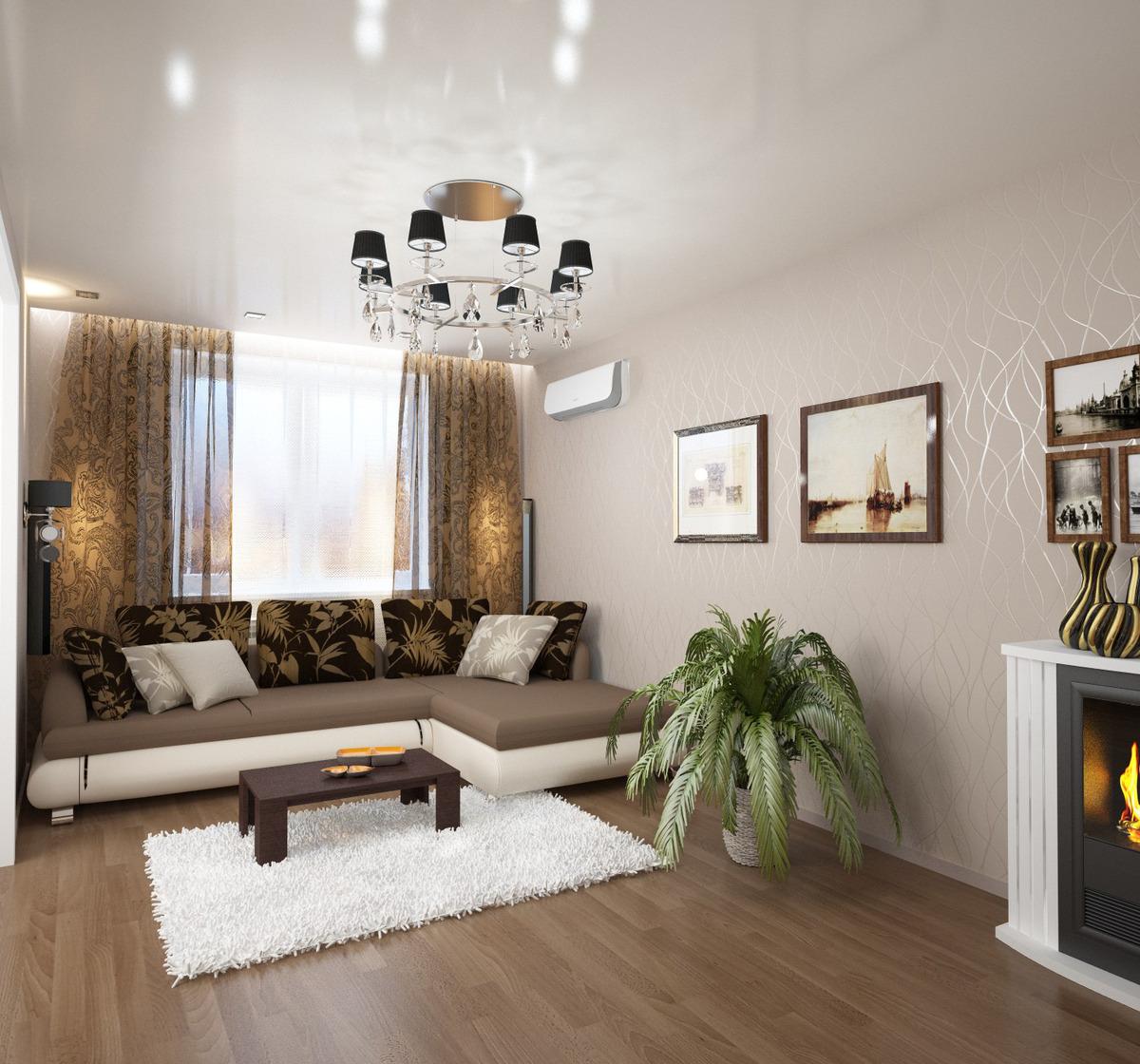 Фото 3 х комнатных квартир интерьер
