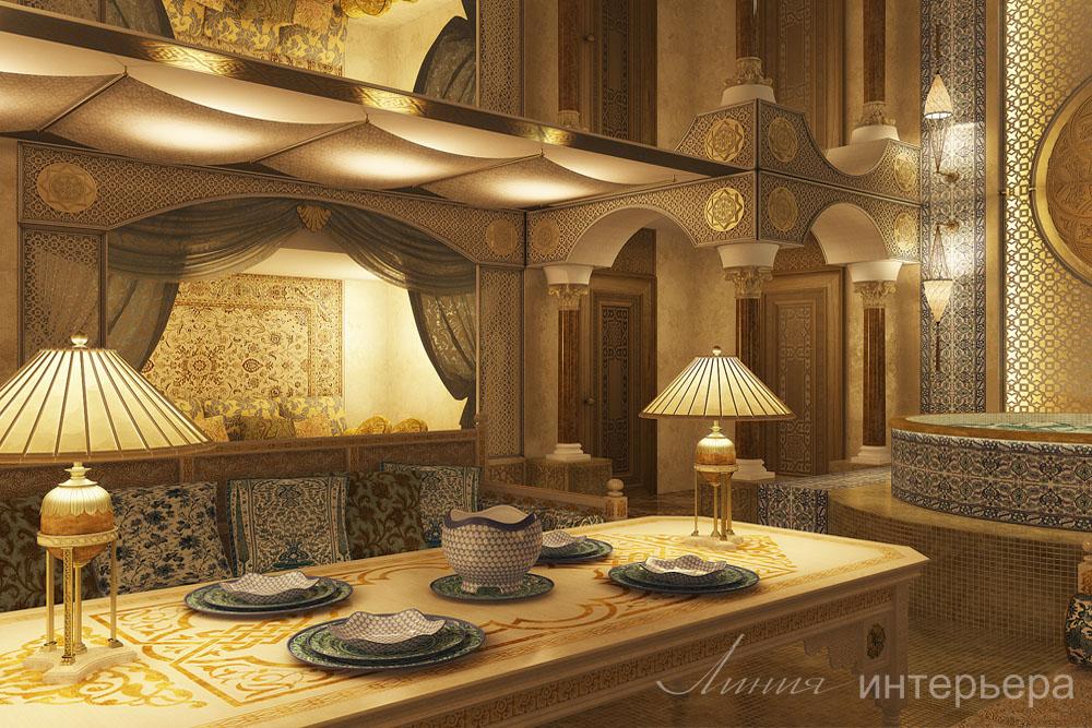 Дом в восточном стиле дизайн