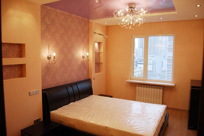 Фото ремонта в спальне своими руками