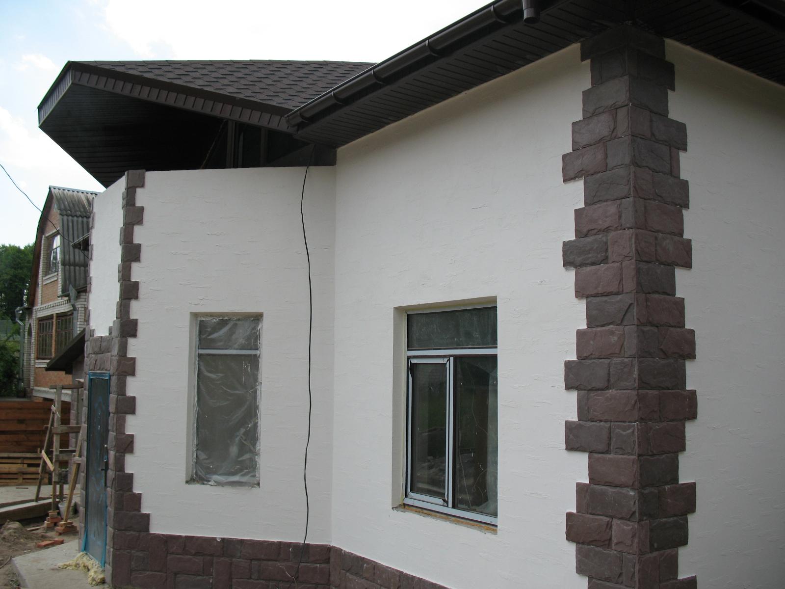 """Дизайн штукатурки фасада дома фото """" Картинки и фотографии дизайна квартир, домов, коттеджей"""