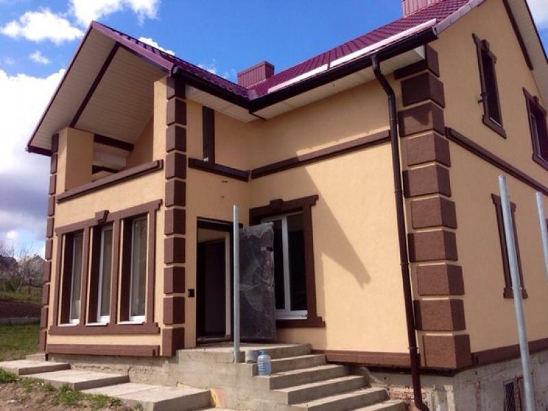 Фасадные работы дизайн домов