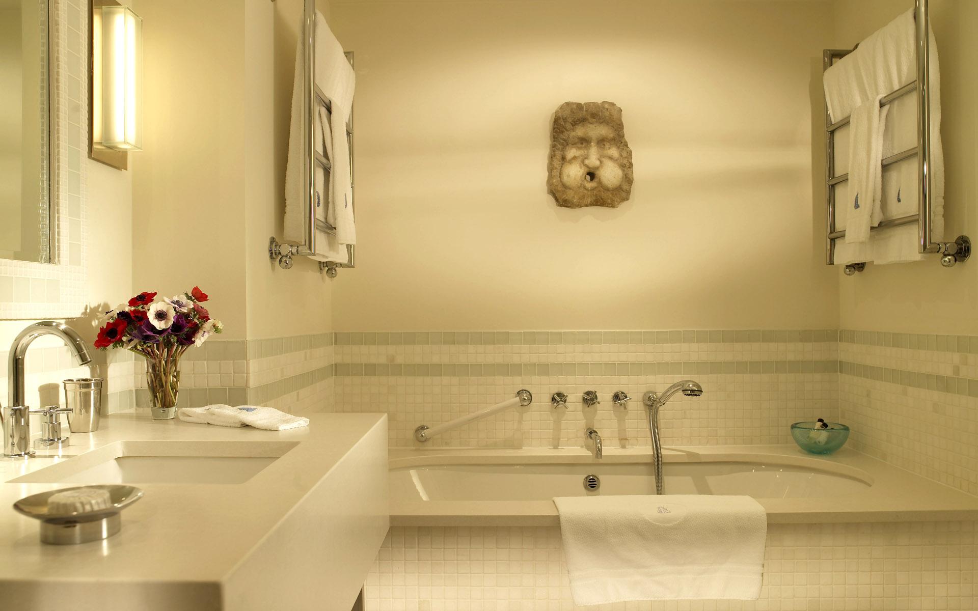 Зеленая ванная комната  № 2278682  скачать