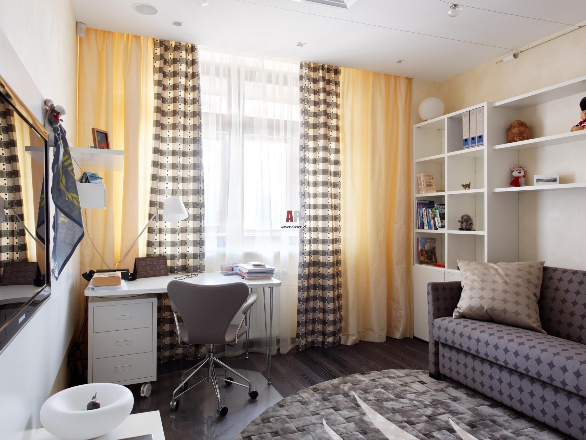 Интерьер комната маленькая дизайн