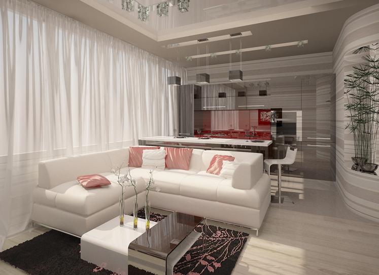 Фото дизайна квартиры 43 кв м