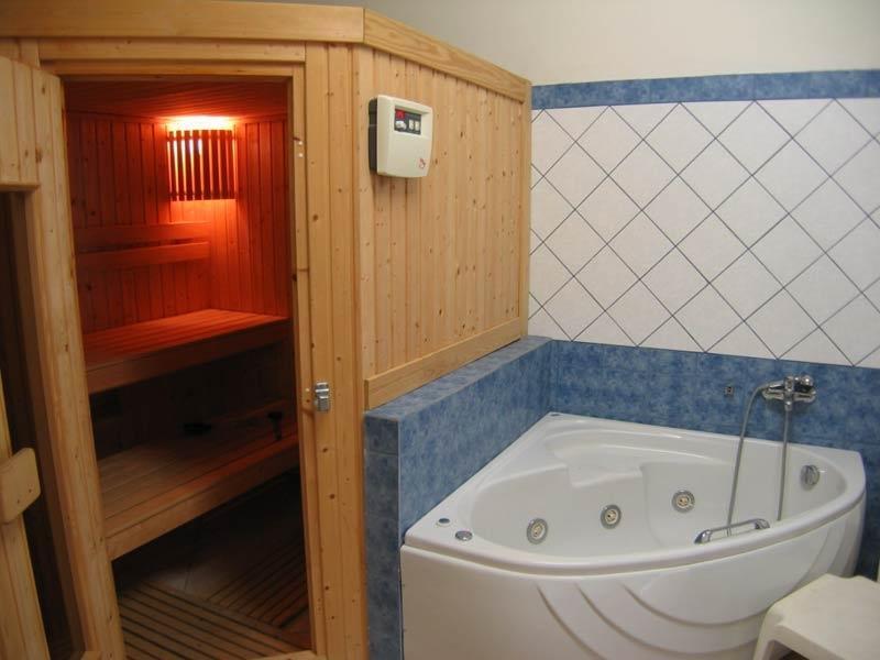 Как сделать сауну в ванной комнате