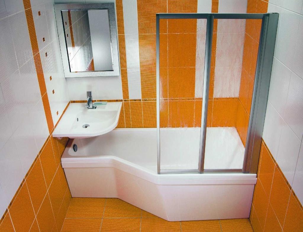И дизайн ванной комнаты