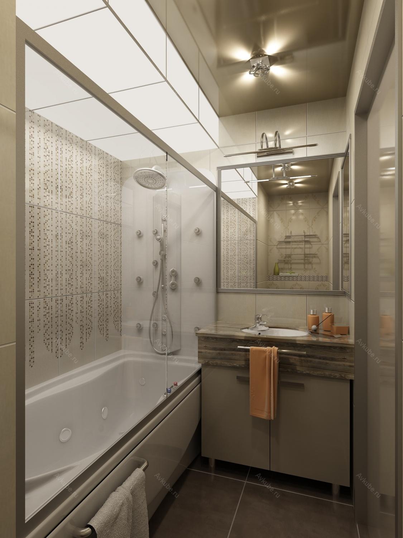 Интерьер ванной комнаты маленького размера фото без туалета
