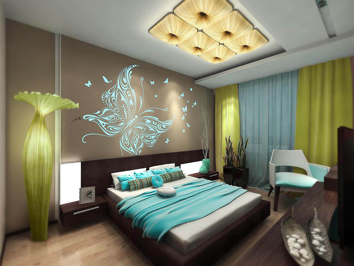 Интересные женские дизайны спален 6