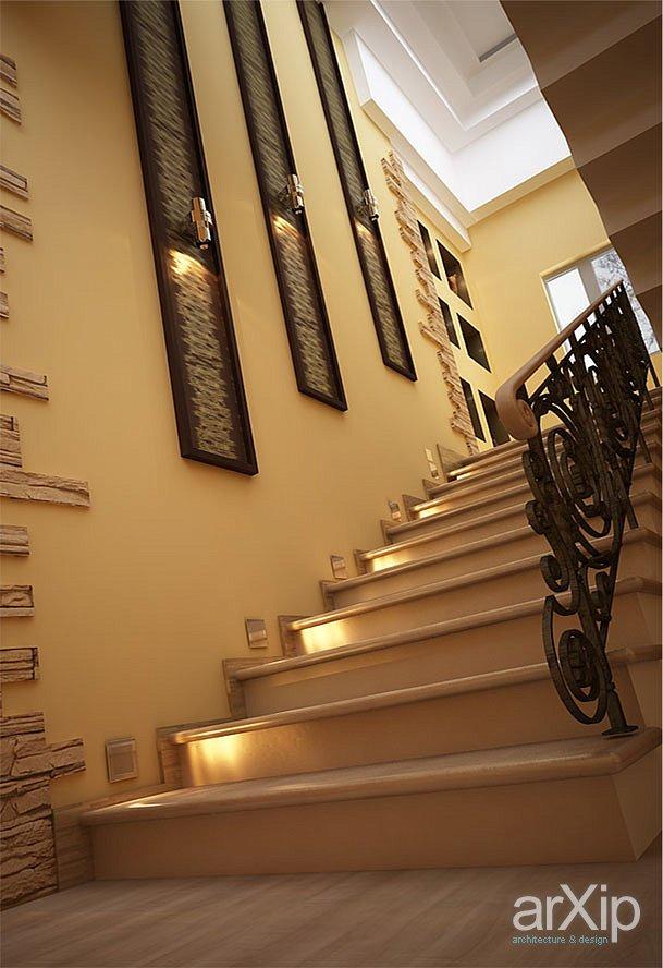 Фото дизайн коридора с лестницей