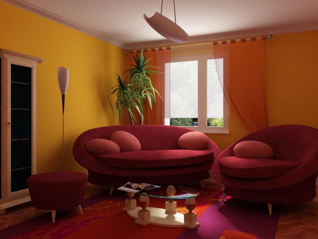 Интерьер северной комнаты фото