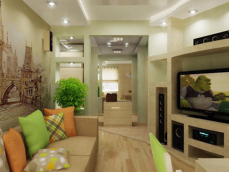 Фото дизайн 3-х комнатной хрущевки
