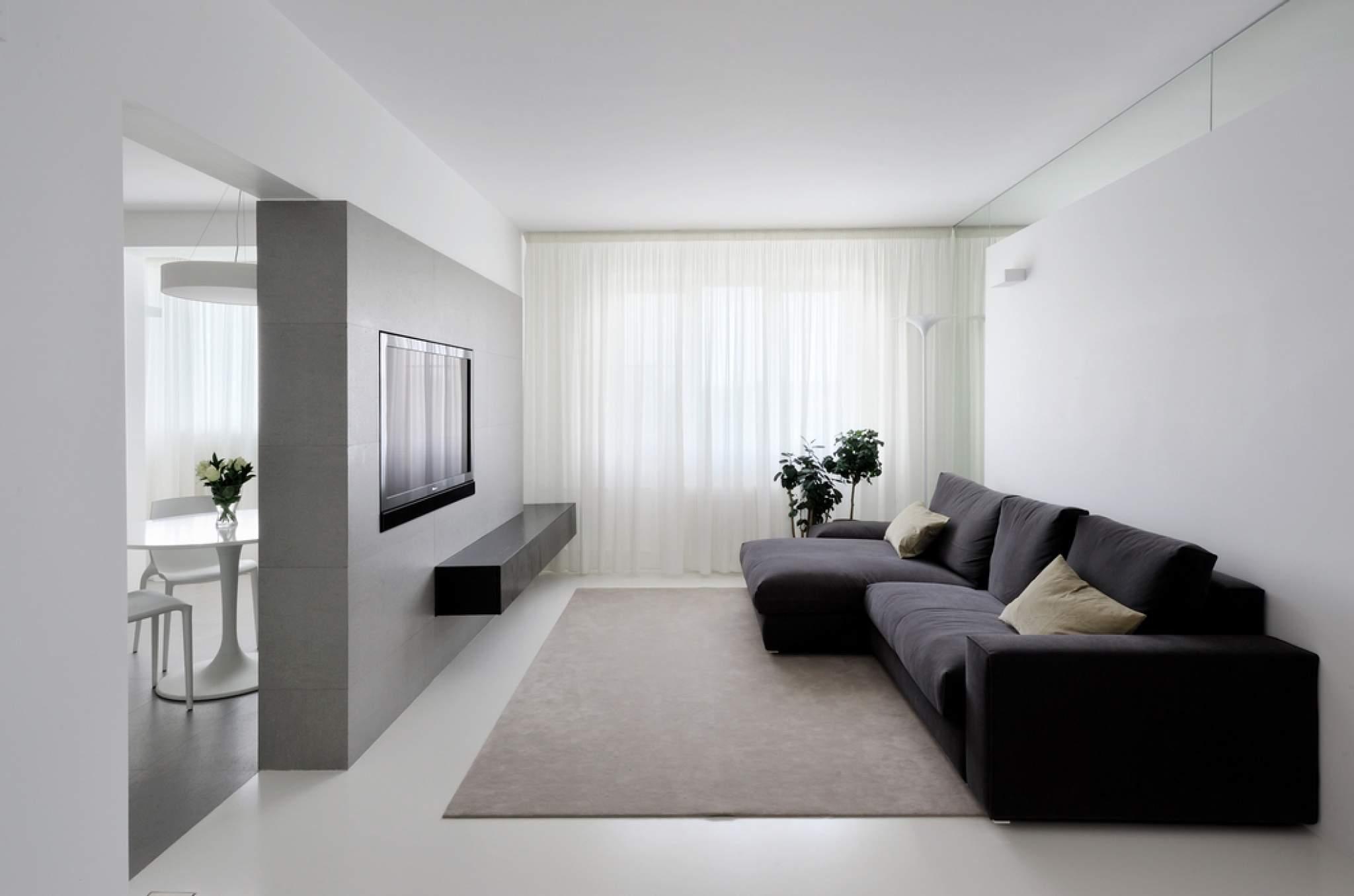 Интерьер гостиной фото минимализм