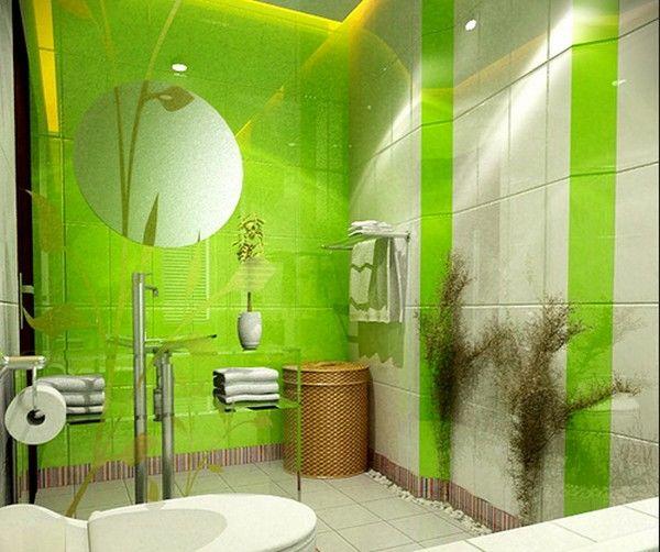 Ванные комнаты дизайн зеленые