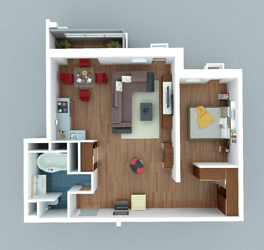 Дизайн проекты как сделать в комнате и