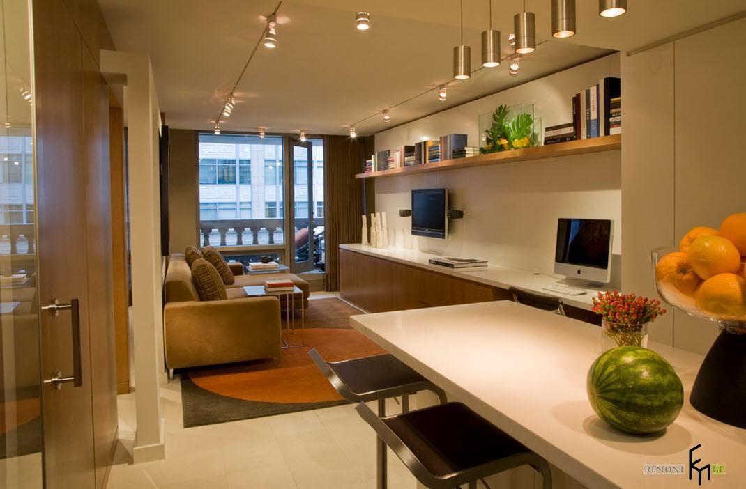 Интерьеры и дизайн небольших квартир
