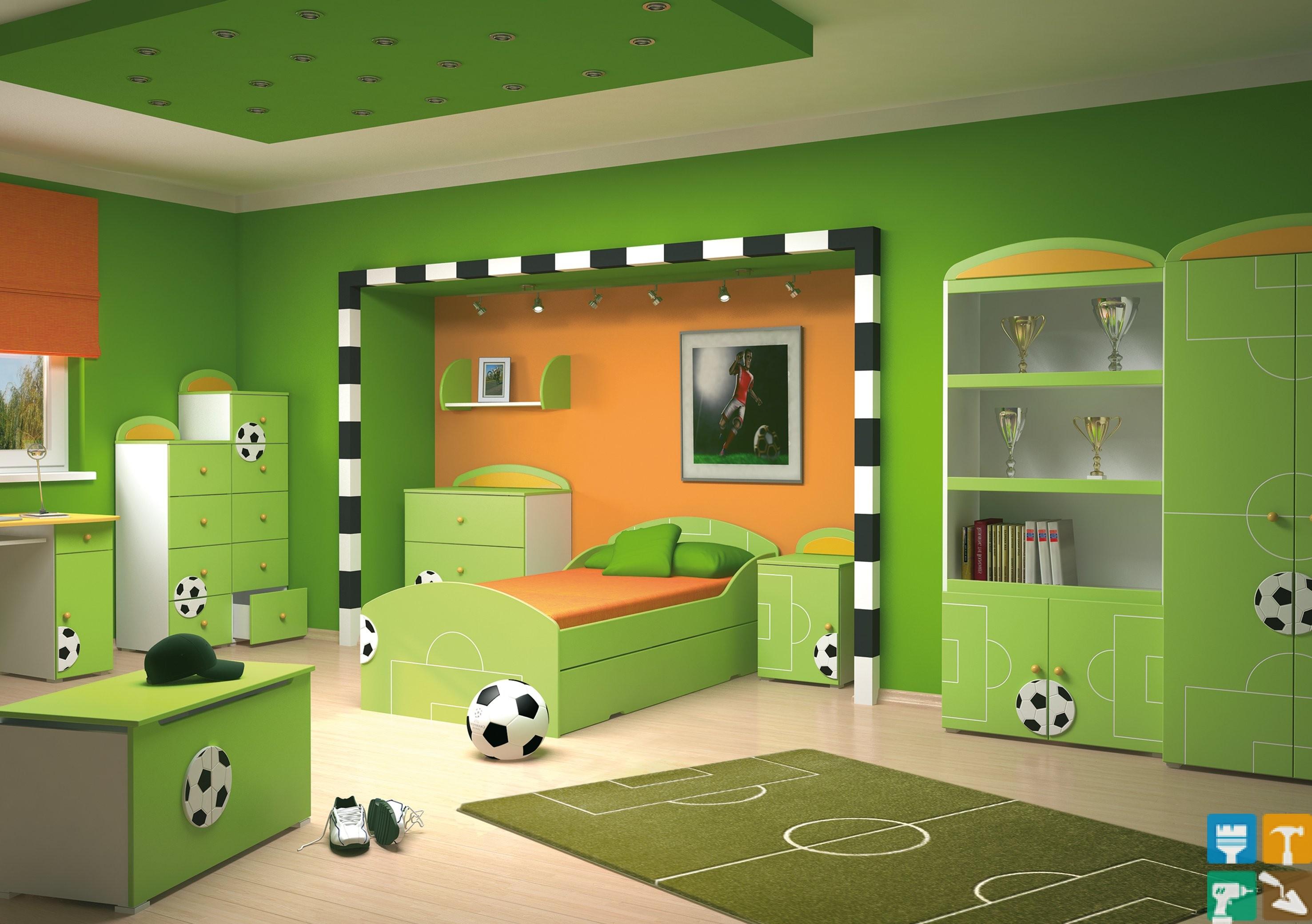 Ремонт в комнате для мальчиков