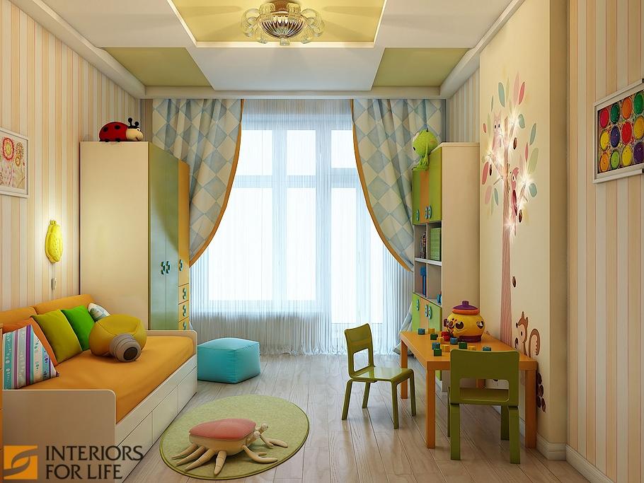 Дизайн детской 15 кв м