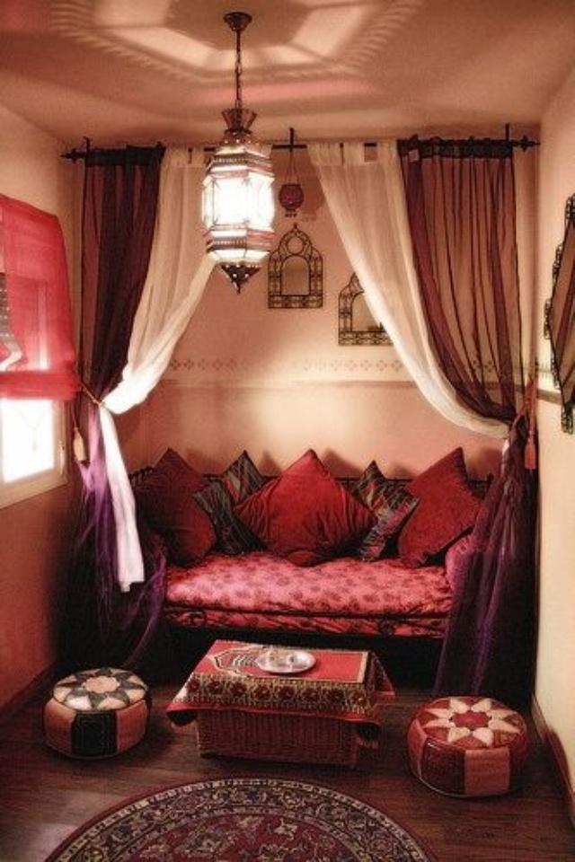 """Оформление спальни в арабском стиле """" картинки и фотографии ."""