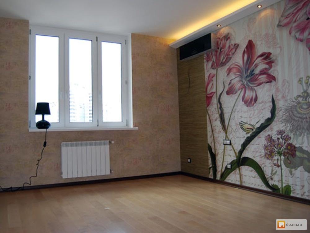 Красивый и недорогой ремонт зала