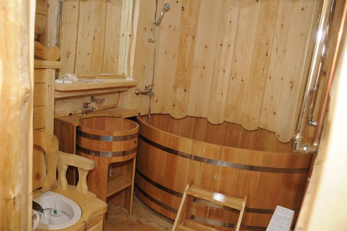 Сауны в деревянном доме своими руками 669