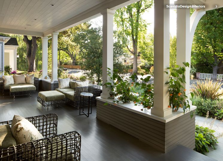 Дизайн открытых веранд в частном доме фото 108